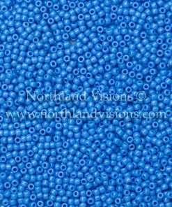 Japanese Seed Bead, TOHO 43D/412E, Opaque Bodemer Blue, 11/0