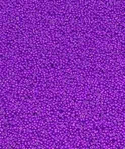 Japanese Seed Bead, 419B, Opaque Deep Plum, 15/0
