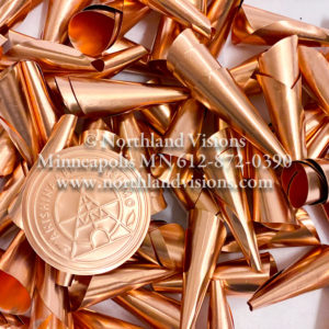 18321-Large-Copper-Plain-Jingle-Cone-Anishinaabe-Bimishimo