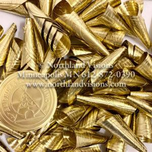 18326-Large-Brass-Embossed-Jingle-Cone-Anishinaabe-Bimishimo