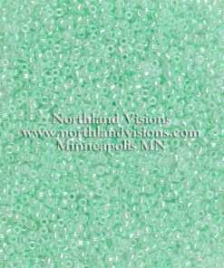 Japanese Seed Bead, Matsuno 11-520, Ceylon Mint Green Luster, 11/0 30 grams