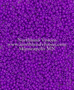 Japanese Seed Bead, 419B, Opaque Deep Plum, 11/0 30 grams