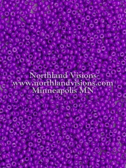 Japanese Seed Bead, 419B, Opaque Deep Plum, 11/0 30 grams