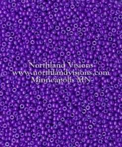 Japanese Seed Bead, 439A, Opaque Eggplant Purple, 11/0 30 grams