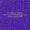 Japanese Seed Bead, Miyuki Round Rocailles 11-1477, Opaque Bright Purple, 11/0 30 grams