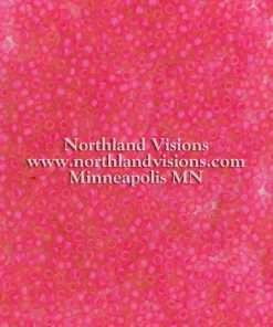 Japanese Seed Bead, F209A, Transparent Crystal Neon Raspberry Matte, 11/0 30 grams