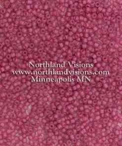 Japanese Seed Bead, Matsuno 11-F395, Transparent Raspberry AB Matte, 11/0 30 grams