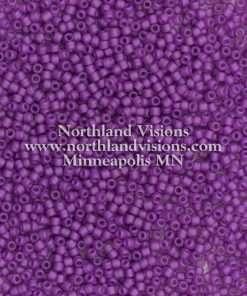 Japanese Seed Bead, Matsuno 11-F399I, Transparent Amethyst Matte, 11/0 30 grams