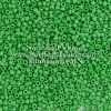 Japanese Seed Bead, Matsuno 11-F411, Opaque Green Matte, 11/0 30 grams