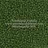 Japanese Seed Bead, Miyuki 11-F411L, Opaque Olive Green Matte, 11/0 30 grams