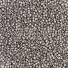 Japanese Seed Bead, TOHO 11-566/11-F451D, Opaque Metallic Pewter Matte, 11/0 30 grams