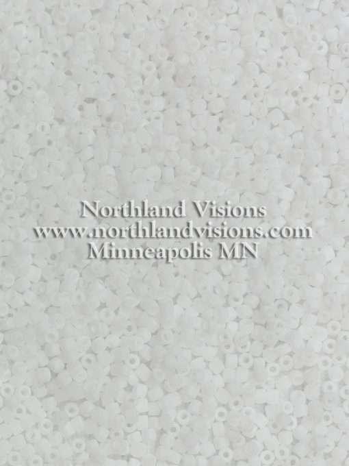 Japanese Seed Bead, Matsuno 11-F511, Ceylon White Matte, 11/0