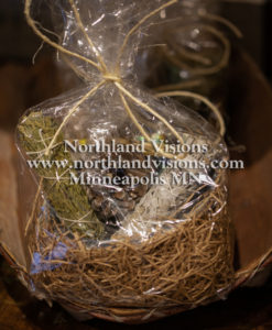 15252-Bag-Smudge-Kit-sage-cedar-sweetgrass-abalone-shell-Northland-Visions