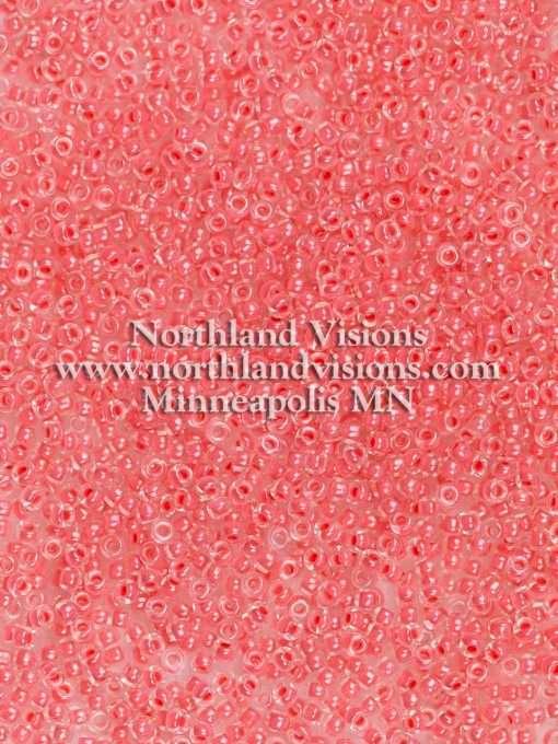 Japanese Seed Bead, Miyuki 11-204, Transparent Crystal Neon Light Raspberry, 11/0 30 grams