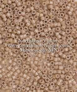 Miyuki Delica Cylinder Bead, DB2105, Duracoat Opaque Beige, 11/0 7 grams