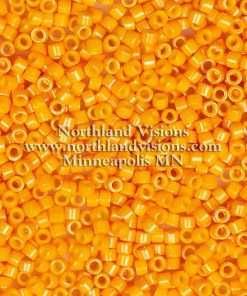 Miyuki Delica Cylinder Bead, DB0651, Opaque Squash, 11/0 7 grams