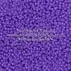 Japanese Seed Bead, 419A, Opaque Eggplant Purple, 11/0 30 grams