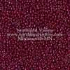 Japanese Seed Bead, 426B, Opaque Dark Plum Luster, 11/0 30 grams