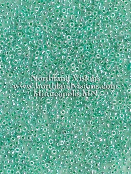 Japanese Seed Bead, Matsuno 520C, Ceylon Dark Mint Green Luster, 11/0 30 grams