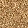 Miyuki Delica Cylinder Bead, DB0331, Opaque 24Kt Gold Plated Matte, 11/0 3.5 grams