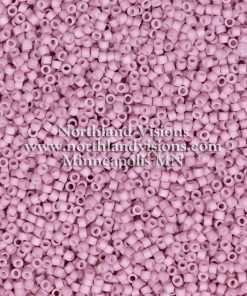 Miyuki Delica Cylinder Bead, DB0355, Opaque Light Rose Matte, 11/0 7 grams