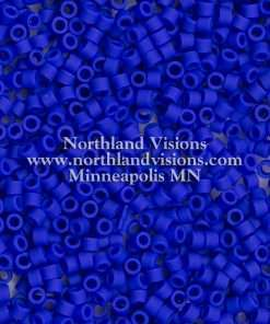 Miyuki Delica Cylinder/Seed Bead, DB0756/DB756, Opaque Royal Blue Matte, 11/0 7 grams