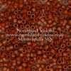 Miyuki Delica Cylinder Bead, DB0794, Opaque Sienna Matte, 11/0 7 grams