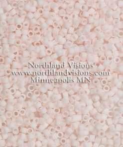 Miyuki Delica Cylinder Bead, DB1510, Opaque Bisque Matte, 11/0 7 grams