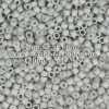 Miyuki Delica Cylinder Bead, DB1518, Opaque Light Smoke Matte, 11/0 7 grams
