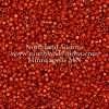 Miyuki Delica Cylinder Bead, DB2352, Duracoat Opaque Orange Rust, 11/0 7 grams