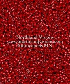 Miyuki Delica Cylinder Bead, DB2354, Duracoat Opaque Barn Red, 11/0 7 grams