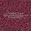 Miyuki Delica Cylinder Bead, DB2355, Duracoat Opaque Grape Purple, 11/0 7 grams