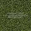 Miyuki Delica Cylinder Bead, DB2357, Duracoat Opaque Army Green, 11/0 7 grams