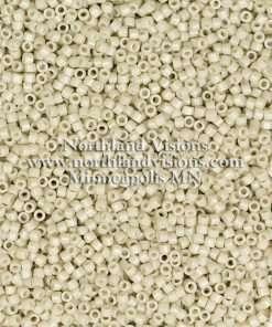 Miyuki Delica Cylinder Bead, DB2362, Duracoat Opaque Off White, 11/0 7 grams
