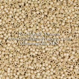 Miyuki Delica Cylinder Bead, DB2364, Duracoat Opaque Navajo White, 11/0 7 grams