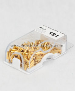 12959-2-6mm-CZ-Czech-24K-Gold-Bugle-Northland-Visions