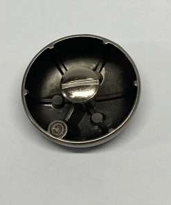 """Antique Nickel Dome Concho with Post, 1.25"""""""