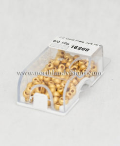 16268-2-6-Czech-24K-Gold-Matte-seed-Bead-Northland-Visions