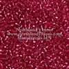 Japanese Seed Bead, Miyuki Round Rocailles 11-24, Transparent Cranberry Silver Lined, 11/0 30 grams