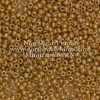 Japanese Seed Bead, Miyuki Round Rocailles 11-403E, Opaque Tan Luster, 11/0