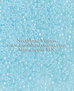 Japanese Seed Bead, 523B, Ceylon Baby Blue Luster, 11/0 30 grams
