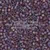 Miyuki Delica Cylinder/Seed Bead, DB0869/DB869, Transparent Mauve Matte AB, 11/0 7 grams
