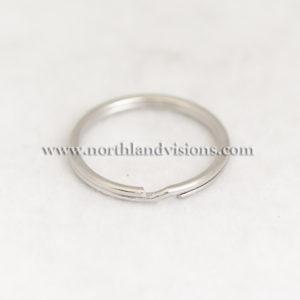 6996-Keyring-Splitring-Single-Silver-Northland-Visions