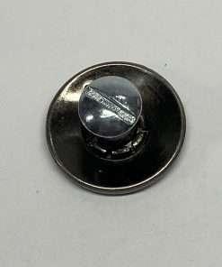 """Imitation Buffalo Nickel Silver Coin Concho Replica, 7/8"""" 1 Piece, Heads"""