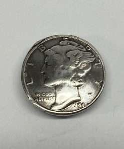 "Imitation Mercury Dime Coin Concho Replica, .75"" 1 Piece"