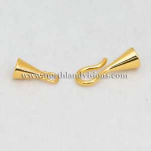 18524-2-6mm-Gold-Hook-Eye-End-Caps-Northland-Visions-Findings
