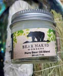 Pure Bear Oil Blend, Bear Oil, Shea Oil, Beeswax, 1oz