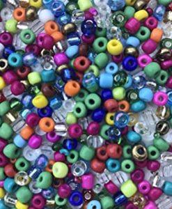 6/0 Czech Pony Beads