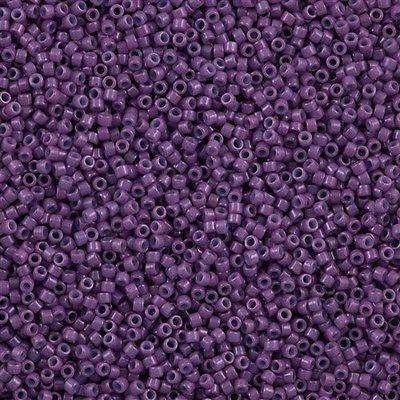 Miyuki Delica Cylinder Bead, DB0660, Opaque Lavender, 11/0 7 grams