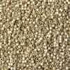 Miyuki Delica Cylinder Bead, DB1831F, Duracoat Galvanized Silver Matte, 11/0 7 grams